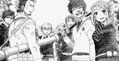 Ao no Exorcist ( 青のエクソシスト ) Ao No Exorcist, Blue Exorcist, Rin Okumura, Love Blue, Blue Eyes, Anime, Princess Zelda, Manga, Black And White