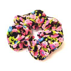 Small Floral Scrunchie-£1.50 #prettytwisted #accessories #scrunchie http://prettytwistedonline.co.uk/product/small-floral-scrunchie-7/
