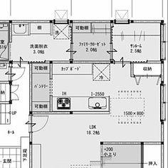 Overview/サンルーム/間取り/ファミリークローゼット/間取図/動線のインテリア実例 - 2016-02-28 15:23:39