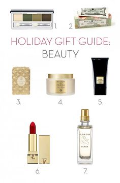 Holiday Gift Guide - Beauty