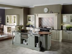 GREY COUNTRY KITCHEN - Google Search