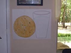 pin the chip on the cookie game.  more cookie games here http://www.perpetualpreschool.com/preschool_themes/cookies/cookie_games.htm