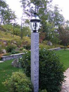 Woodbury Gray Lamp Post Lamppost Outdoorlighting