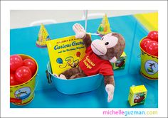 Joshua's Curious George 2nd birthday!