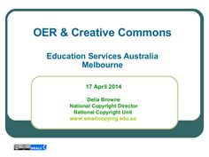 Creative Commons Licences and how to find OER