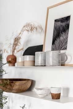 Shop ethical, shop small businesses, shop handmade and vintage products on Etsy. Styling and photography by Eleni Psyllaki for My Paradissi Rustic Kitchen Design, Kitchen Shelves, Kitchen Dining, Dining Room, Open Shelves, Open Kitchen, Style Deco, Slow Living, Kitchen Styling