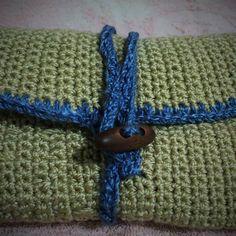 Estruche crochet para ganchillos. Estambre bicomponente, gancho 4.5mm.