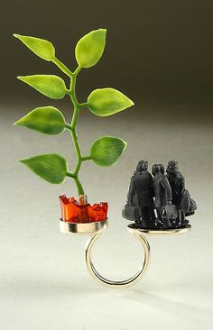Heavy-Handed Allegory Ring by 2Roses Jewelry, via Flickr  all I can say is, w-o-w JK