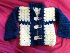 Ropa de bebe varon a crochet por tejiditos Avliss