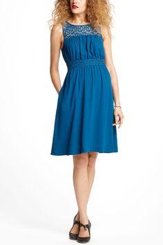 Lace-Yoke Dress - Anthropologie.com