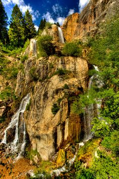 South Teton Waterfall, Grand Teton National Park, Wyoming; photo by Chad Dutson