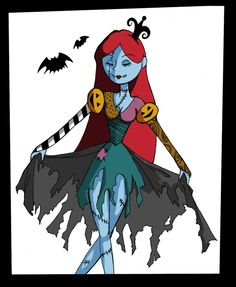 Sally - Queen of Halloween by KurosakiHisoka.deviantart.com on @deviantART