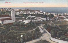 Antonio Cavilla Photographer: Vista desde el Hotel Villa de France, Evolución de la Iglesia Anglicana de St. Andrews, Tánger.