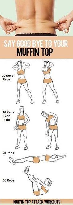 Fitness y ejercicio, reducir las lorzas o michelines de la espalda