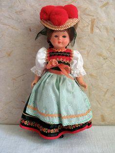 German Schwarzwald Black Forest costume doll by plastickingdom