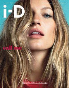 Gisele Bundchen i-D Magazine 1