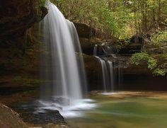 """Upper Caney Creek Falls"" Bankhead National Forest, AL"
