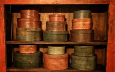 Early Pantry Boxes
