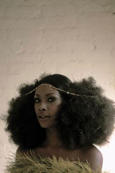 Eve Arnold (American, b. 1913), Arlene Hawkins with Afro puffs, New York City, 1968, Magnum Photos, ARE196812 KXX1