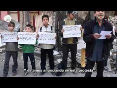Protesta dirigida al mundo: ¡Suficiente con el silencio sobre los crímen...