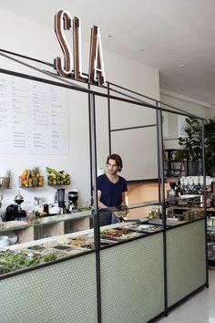 沙拉快餐店
