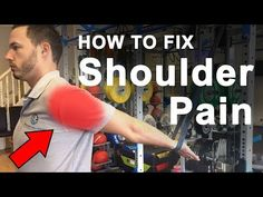 Understanding Shoulder Pain and How To Fix It Shoulder Pain Exercises, Shoulder Injuries, Shoulder Muscles, Shoulder Workout, 12 Week Workout, Strength Bands, Shoulder Pain Relief, Self Treatment, Rotator Cuff