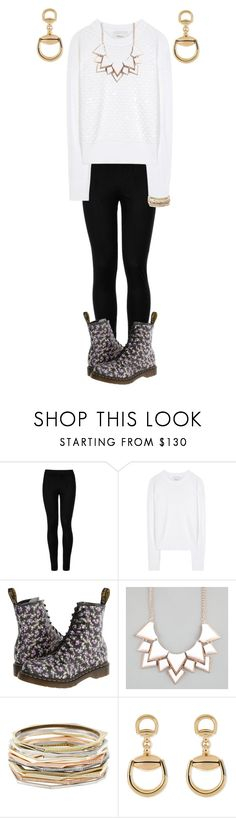 """""""Untitled #212"""" by tessa-moon on Polyvore featuring Wolford, 3.1 Phillip Lim, Dr. Martens, Full Tilt, Kendra Scott and Gucci"""