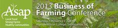 ASAPs Busineess of Farming Conference - Feb 23rd, 2013