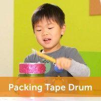 Packing Tape Drum