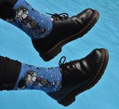punklessappearance:   Docs and socks