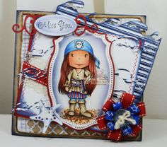 Pirate Avery card designed by design team member Tammy for The Paper Nests Dolls