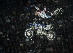 Tom Pages, winner of the 2013 Red Bull X-Fighters 2013