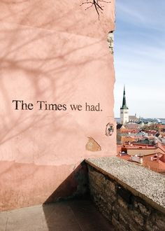 the view of Tallinn from upper old town | travel diary on coco kelley