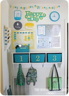 Here is a round up of some of the most inspiring family command center ideas. Use these ideas to create the perfect command center for your family.