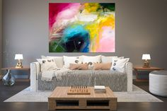 Large Abstract Painting,Large Abstract Painting on Canvas,extra large wall art,colorful abstract,acrylic textured Large Canvas Art, Abstract Canvas Art, Oil Painting Abstract, Texture Art, Texture Painting, Bathroom Canvas Art, Art Deco Living Room, Oversized Wall Art, Extra Large Wall Art