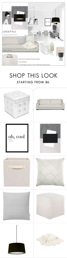 """""""Stay Minimalist"""" by rainie-minnie ❤ liked on Polyvore featuring interior, interiors, interior design, home, home decor, interior decorating, LumiSource, Nomess, Jaipur and Santa & Cole"""
