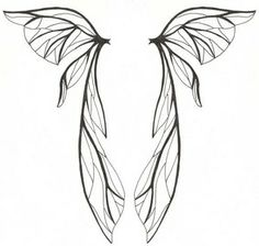 Fairy Wings Tattoo Designs For Girls – i would love to get a fairy ...