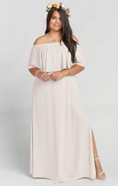 10f9e1461c2 Hacienda Maxi Dress ~ Show Me the Ring Crisp