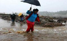 Instalan albergue en Tijuana para damnificados por lluvias