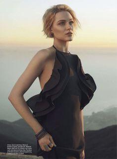 black beauty: evan rachel wood by hilary walsh for us cosmopolitan march 2013.