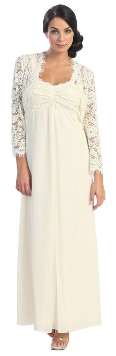 Nice Evening Dresses plus size Wedding Dresses for Women Over 50 Check more at http://24myshop.tk/my-desires/evening-dresses-plus-size-wedding-dresses-for-women-over-50/
