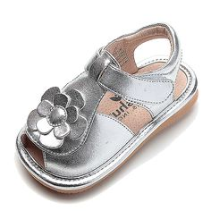 Silver sandals can be paired with just about any outfit!   toesandts.com