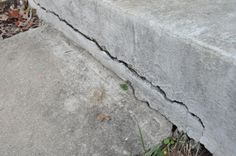 How to Repair Cracked Concrete How to fix cracks in concrete with Quikrete FastSet Repair Mortar or if there is any chance of movement in the ground with Quikrete Polyurethane Concrete Crack Sealant Concrete Projects, Outdoor Projects, Diy Projects, Concrete Crafts, Weekend Projects, House Projects, Home Renovation, Home Remodeling, Repair Cracked Concrete