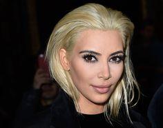 Koloryzacja Kim Kardashian: Olaplex to najlepszy sposób na blond włosy