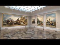 Reapertura de las salas de Cartones de Goya y de pintura española del siglo XVIII - YouTube