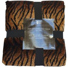 Get fierce with our Faux Fur Animal Throw - Bengal Tiger and incorporate some animal print into your #dorm #decor! http://www.dormco.com/SearchResults.asp?Search=Faux+Fur+Animal+Throw+-+Bengal+Tiger