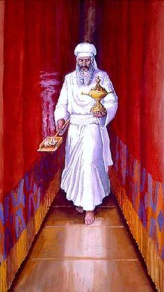 Ancient Israelite temple ceremonial clothing worn in the Mosaic Tabernacle, and succeeding Israelite temples of Solomon, Herod, et al.