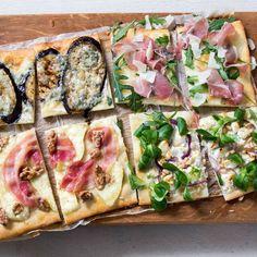Vandaag staan er vier soorten pizza bianca online! Perfect om