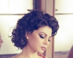 Love this hair. Reminiscent of Sofia Loren.