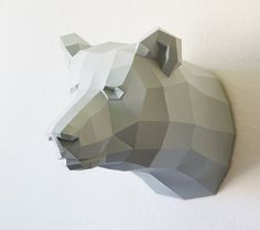awesome paper mache bear!!   etsy finds: home stuff